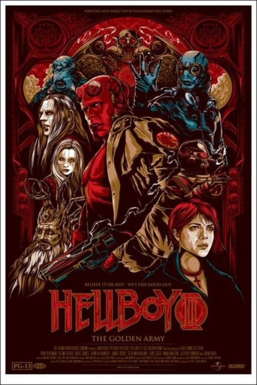 Hellboy II: The Golden Army Full Movie Online 2008