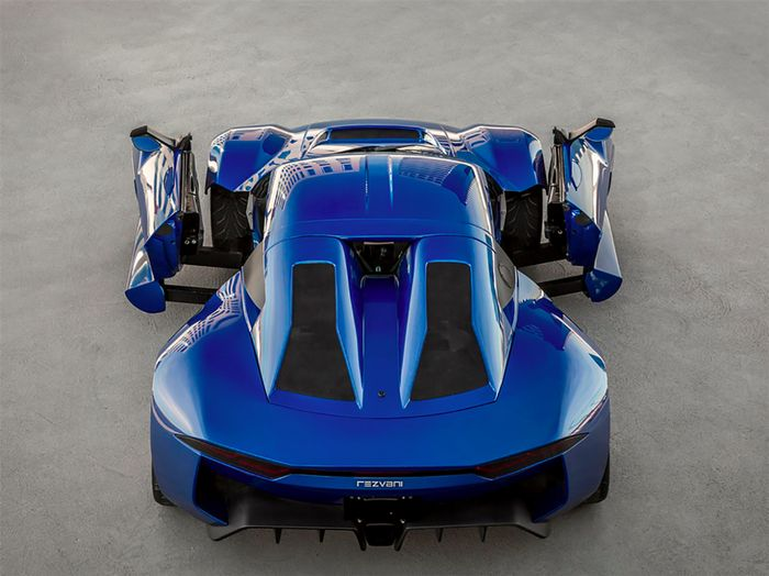 Meet the 500-hp Rezvani Beast Alpha and Its Crazy Sliding Doors   It weighs less than 2000 lbs. has a manual transmission and hits 60 mph in 3.2 seconds.  Even though you may have only heard about it recently Rezvani Motors has been around since 2014. Its first car the Beast is based on the Ariel Atom and can be had in either 300 or 500-horsepower form. And if you're looking for something truly hardcore the Beast X makes a whopping 700 horsepower. Now however there's a new Rezvanithe Beast…
