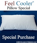 Cooling Mattress. Mattress too hot? Sleeping too hot? Try our Feel Cooler™ Cooling Mattress Pad and Cooling Sheets! | Cooling Mattress