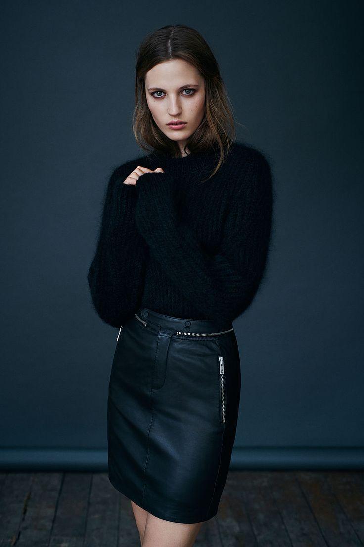 ALLSAINTS: Women's lookbook 2014 September wish winter is here already!