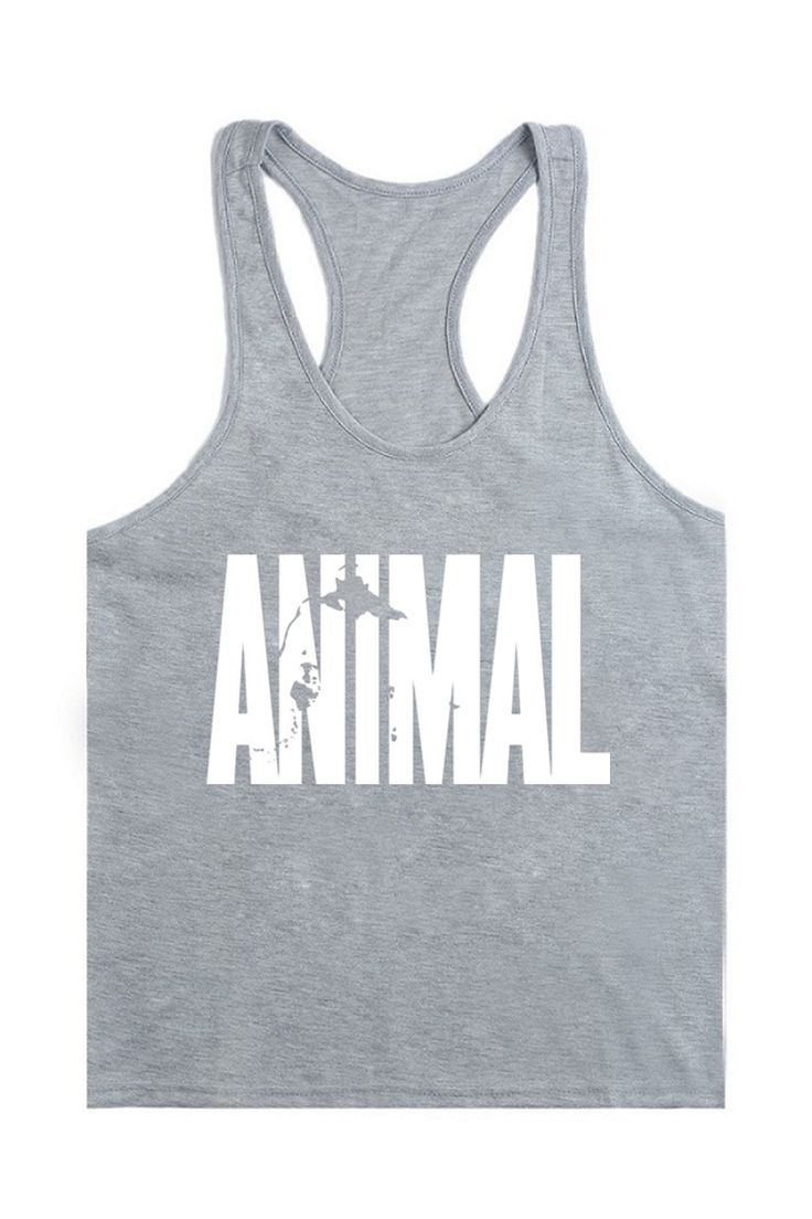 New Printing Animal Stringer Tank Top Men Bodybuilding Equipment Clothing and Fitness Shirt Sports Vest Singlets Muscle. Click visit to check price