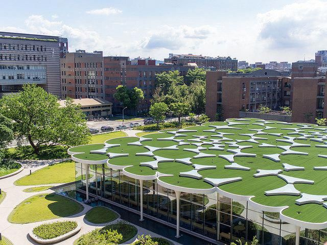 Green Roofs And Great Savings Green Roof Ramps Architecture Landscape Architecture