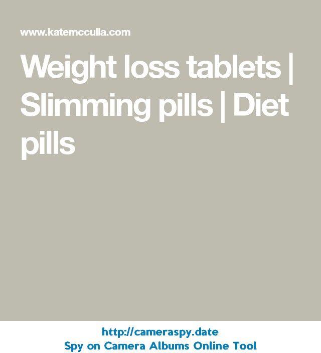 Weight loss tablets | Slimming pills | Diet pills