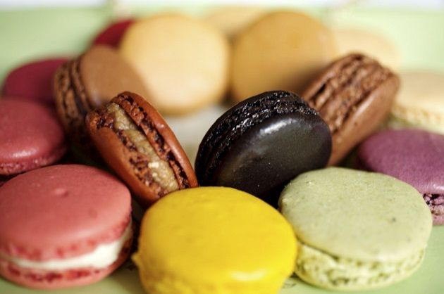 """When talking about French Macarons one can't forget the famous LADURÉE boutique - bakery.  They have the most tasting, delightful and gorgeous pastries."""