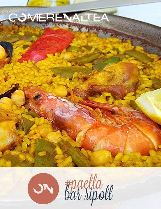 Paella • Bar Ripoll • Altea la Vella #Altea #restaurante #mediterraneo #comer_en_altea