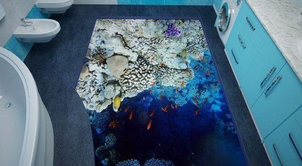 23 3d Badezimmerboden Design Ideen Die Ihr Leben Verandern Werden Bodengestaltung Bodenbelag Fur Badezimmer Badezimmerboden