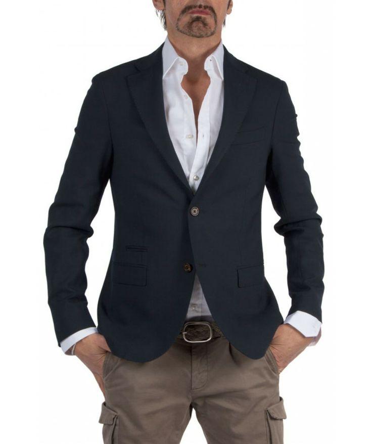 Groppetti Luxury Store - Giacca Due Bottoni - Eleventy Spring Summer Collection 2014 #eleventy #men #man #fashion