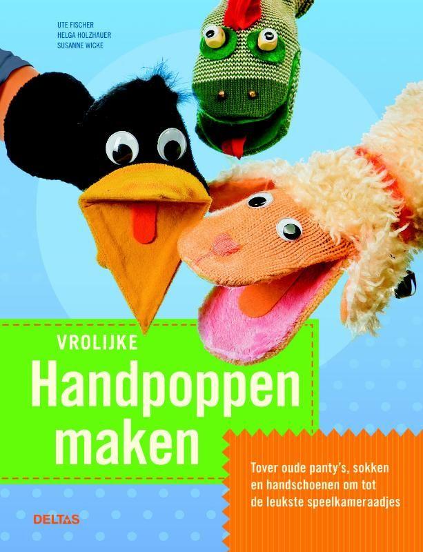 Handpoppen maken - Standaard Boekhandel
