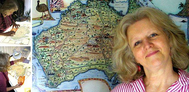 Mapping a Unique View of the World: A Q+A with Linda of Journey JottingsUnique View, Colours Sets, Travel Bloggers, Journey Justice, Revere Travel, Journey Jot, Maps Enthusiast, Continuous Reading, Linda Fairbairn
