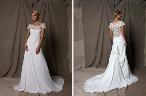 In love with the dress...two of my favorites in a dress...off shoulder and lace!!!