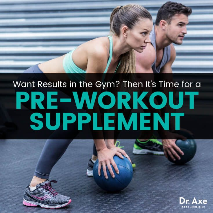For Results in the Gym, This Works Like Crazy† - Dr. Axe