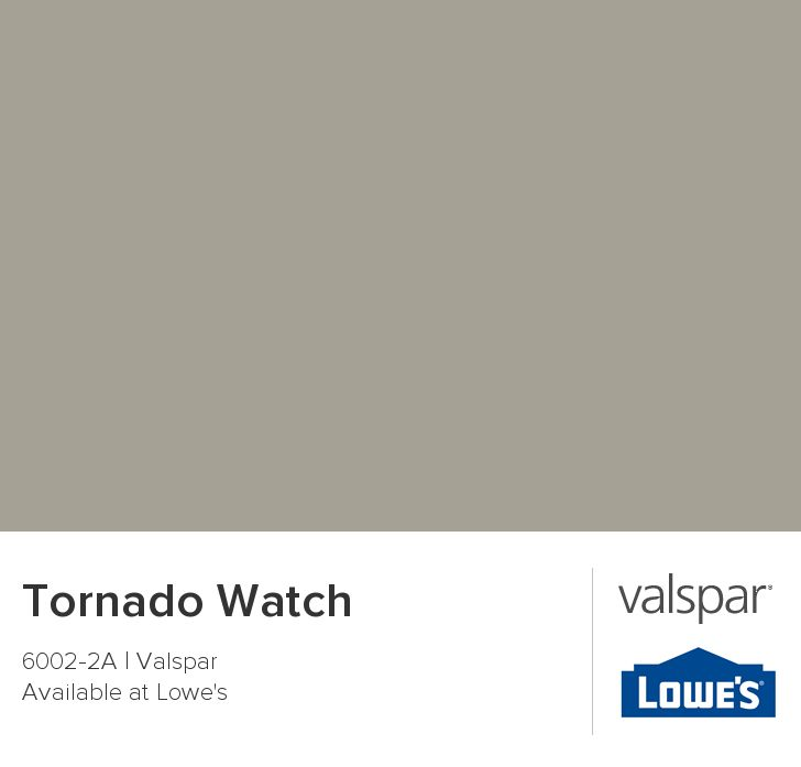 Tornado Watch from Valspar