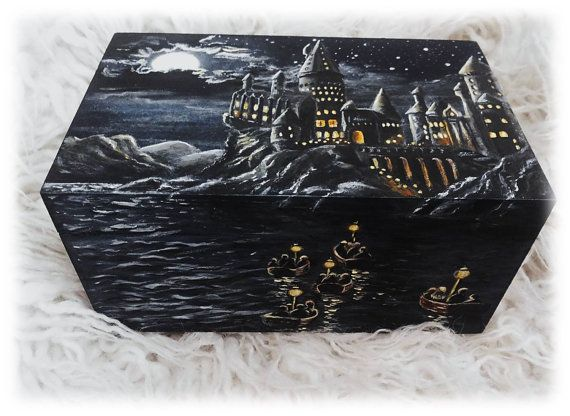 Hey, I found this really awesome Etsy listing at https://www.etsy.com/listing/264710959/harry-potter-hogwarts-hand-painted