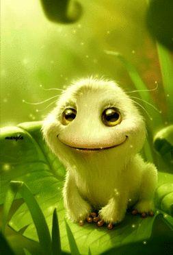 Cute Little Animal Animated #cutest #animation #wallpapers #illustration