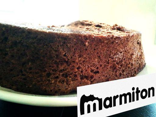 Gâteau au chocolat, sans beurre (au micro-ondes) : Recette de Gâteau au chocolat, sans beurre (au micro-ondes) - Marmiton