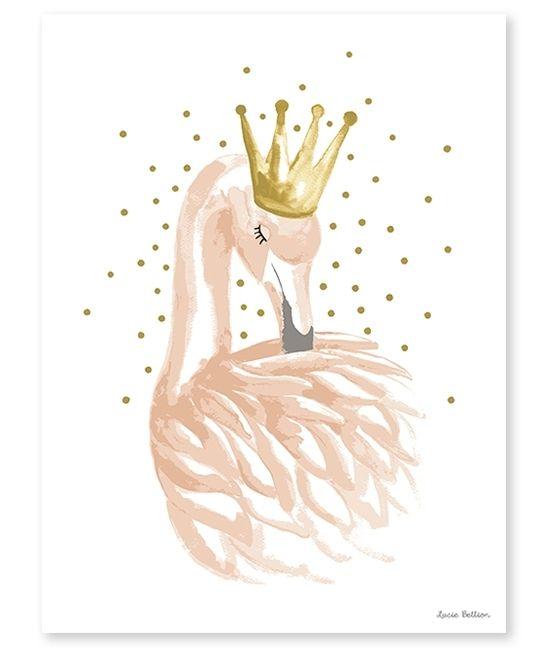 Poster Lilipinso Flamingo 30x40cm www.HippeKidsKamer.nl