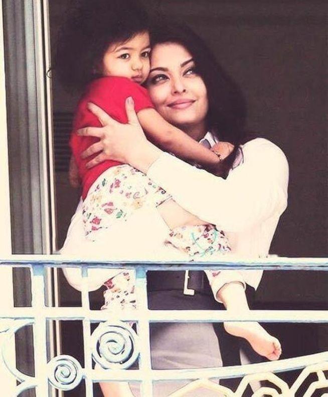 aishwarya rai & daughter
