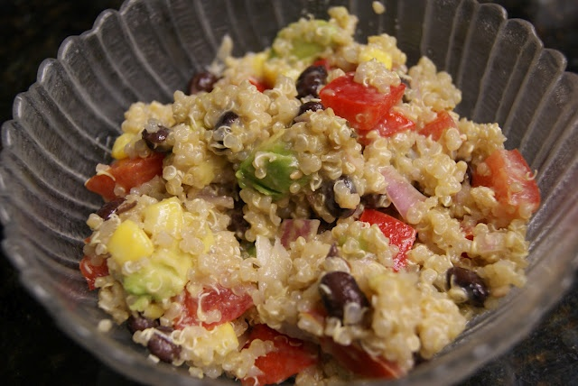 Quinoa salad, Quinoa and Salads on Pinterest