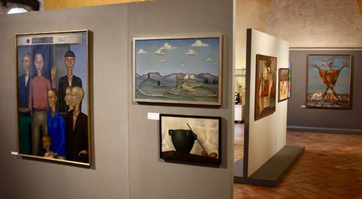 La rétrospective Pierre Henry, à voir jusqu'au mois de novembre du Musée laïque d'art sacré de Pont-Saint-Esprit (Photo : Thierry Allard / Objectif Gard)