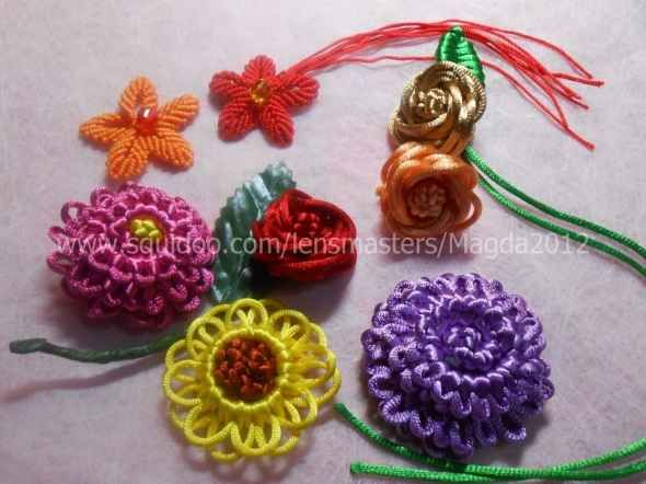 Creative Crafts Ideas with Chinese Knotting / Macrame