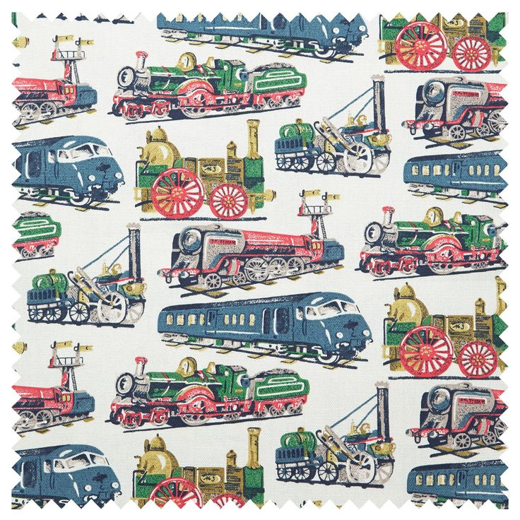 16 best cath kidston patterns images on pinterest cath for Kids train fabric