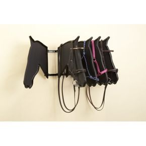 The ultimate bridle and headcollar display product Swings freely on a simple lift off hinges.