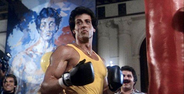 """Sylvester Stallone Rocky   Rocky Balboa (Sylvester Stallone) in """"Rocky III"""" (1982)"""