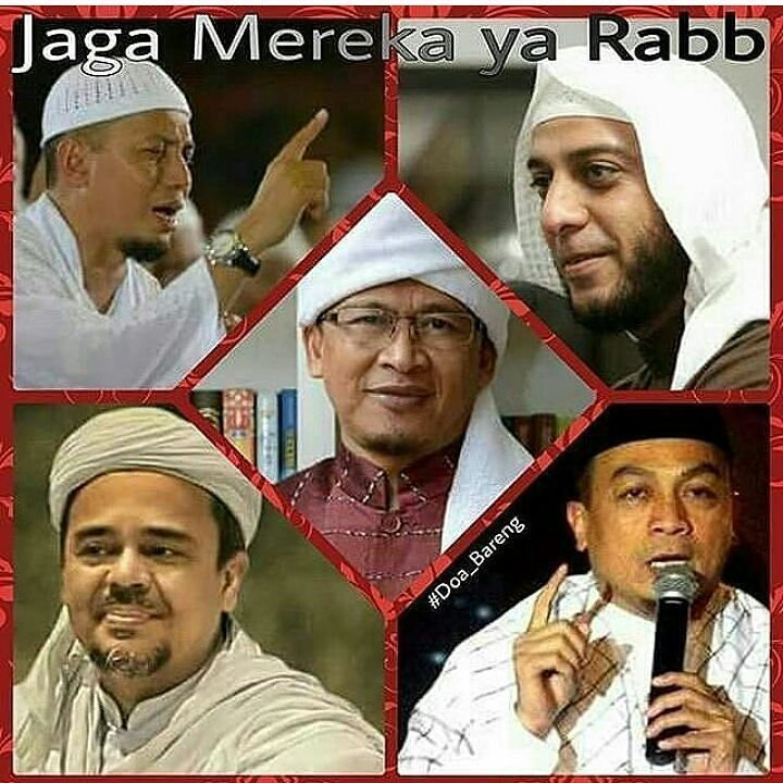 Semoga ALLAH selalu melindungi dan menjaga mereka para Guru Ulama Pejuang dan Pembela Deen ALLAH ini.  Aamiin Yaa Rabbal'allamin... Aamiin Yaa Mujib'bassailin... .  Follow @IndonesiaBertauhid  Follow @IndonesiaBertauhid  Follow @IndonesiaBertauhid  .  Follow @NasehatUlama  Follow @NasehatUlama  Follow @NasehatUlama  .  #GenerasiMudaIslam #MuslimMudaMenginspirasi #doa #baik #guru #ulama #ustadz #tokoh #pejuang #pembela #quran #alquran #agama #islam #Indonesia