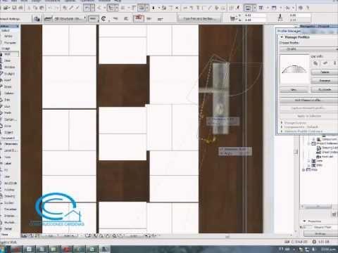 Tutorial de Archicad; creacion de puerta modeladas