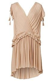 Crossover Tassel Dress #WITCHERYSTYLE  and m little bit of BoHo