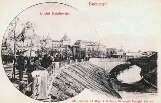 BU-F-01073-5-06356 Bucureşti, Cheiul Dâmboviţei, 1880-1900 (niv.Document)