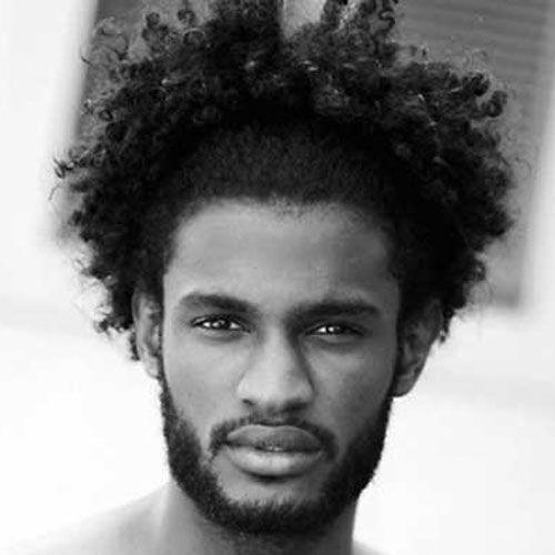 Coiffures moyennes longues pour les hommes noirs # Coiffures noires   – Black hairstyles