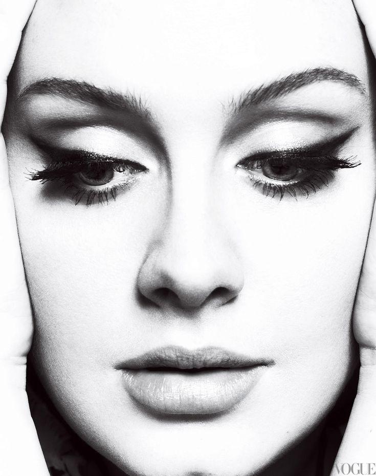 Adele - make-up for MK's wedding?