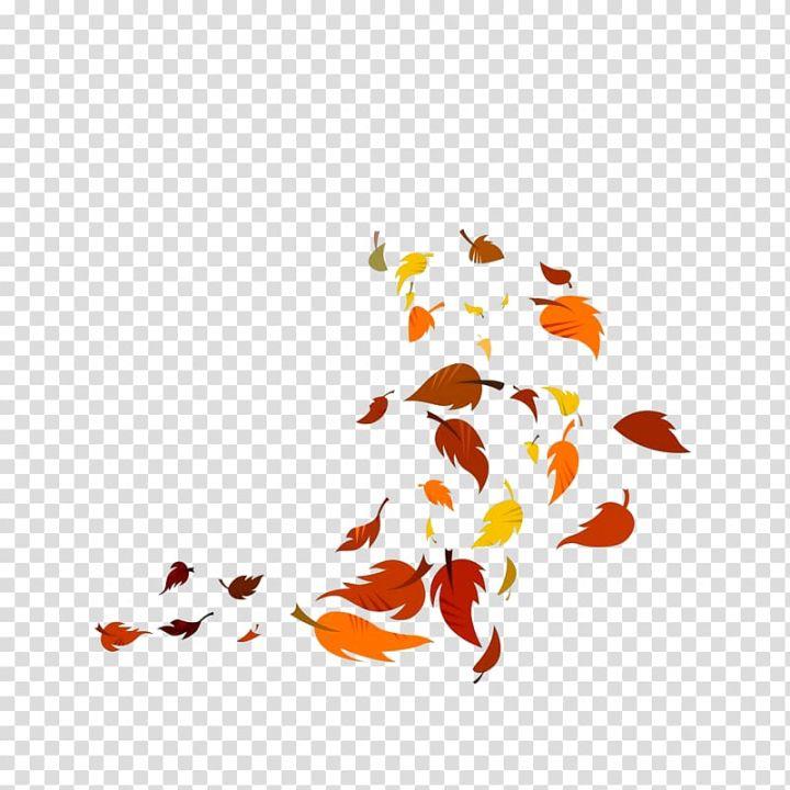 Leaves Illustration Leaf Leaves Falling In The Wind Transparent Background Png Clipart Leaves Illustration Clip Art Free Clip Art