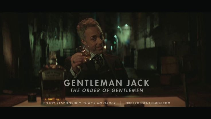"I wrote a humourous manifesto/toast for Gentleman Jack's ""The Order of Gentleman"" campaign. It got turned into a :15."