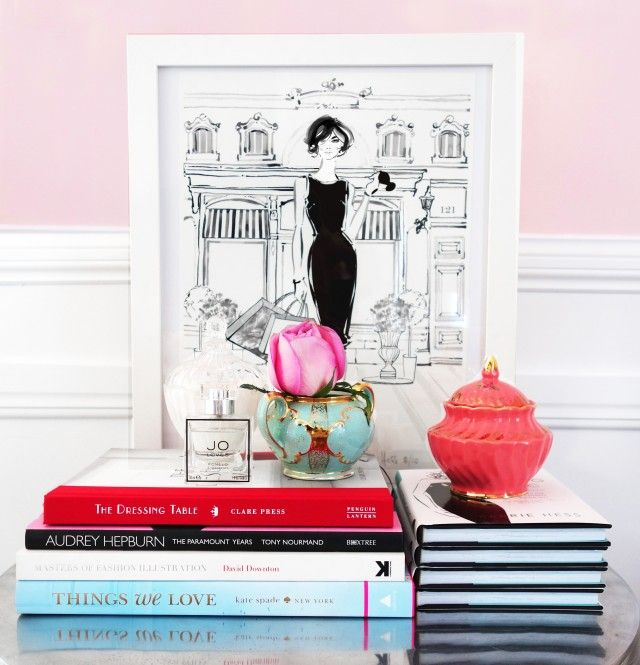 Covet my coffee table: with fashion illustrator Kerrie Hess