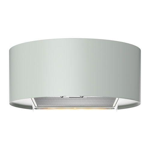 IKEA - UDDEN, Hotte aspirante murale, Garantie 5 ans gratuite. Détails des conditions disponibles en magasin ou sur internet.Vous pouvez facilement retirer et nettoyer le filtre à graisse au lave-vaisselle. 1 filtre à graisse inclus.Installation possible en évacuation extérieure ou en recyclage.L'ampoule halogène diffuse une lumière confortable pour la cuisson. 1 ampoule halogène incluse.Panneau de commandes frontal et facile d'accès.