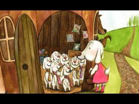 LES SET CABRETES I EL LLOP (conte animat amb so)