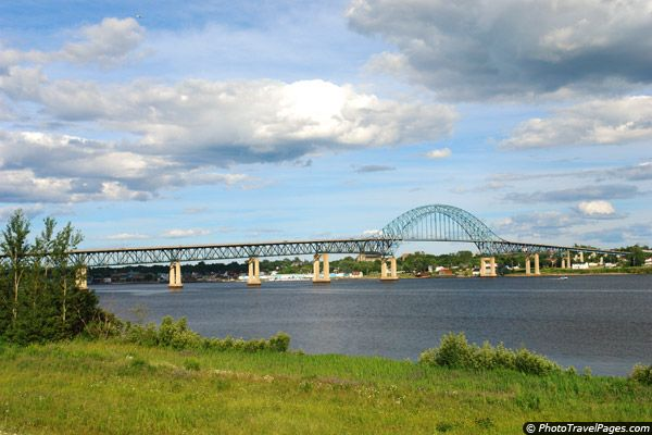 Bridge Across Miramichi River - in Miramichi, New Brunswick