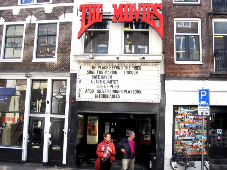 The Movies is the oldest cinema in Amsterdam, open since 1912.