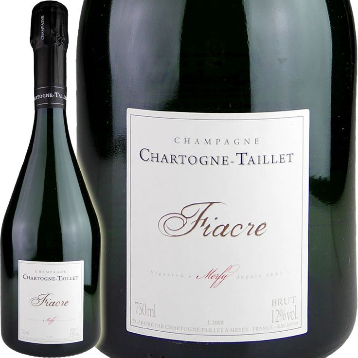 Chartogne-Taillet Cuvee Fiacre Taillet NV (2008) / Charter NY tie cuvee factor tie [FR], [white foam]