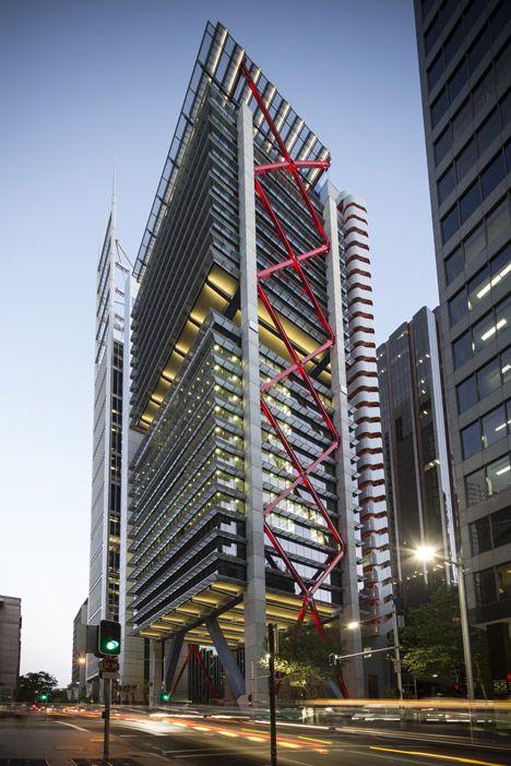 8 Chifley by Rogers Stirk Harbour + Partners (Sydney, Australia) #architecture