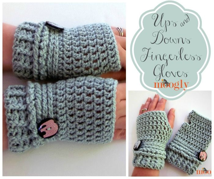 Free Crochet Pattern Ladies Mittens : 17 Best images about Hand Warmers Crochet on Pinterest ...