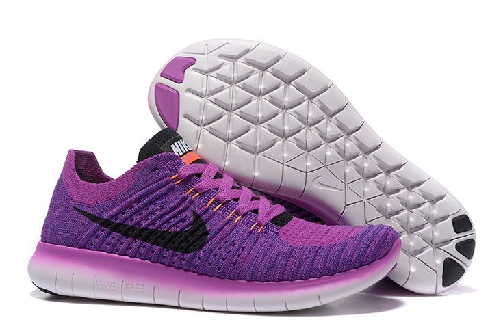 NIKE FREE FLYKNIT 5.0 Purple  /Black Size: 36-39