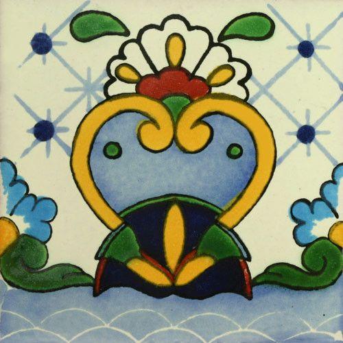 Traditional Mexican Border Tile - Cisne – Mexican Tile Designs