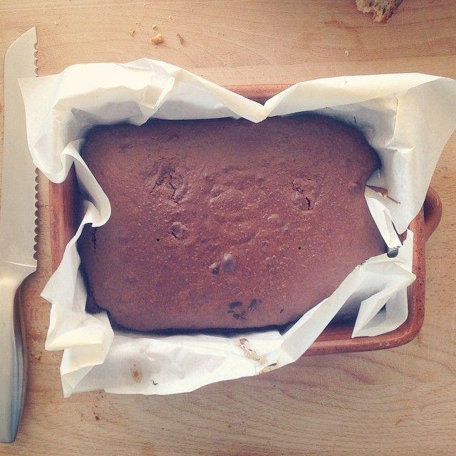 Fresh baked chocolate cake!!! #sundaycookdiary