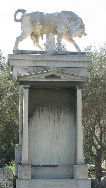 Monument Kerameikos, Ancient Graveyard, Athens, Greece by Tilemahos Efthimiadis, via Flickr