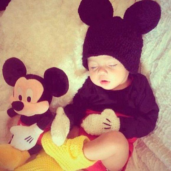 Inspiração: Mickey Mouse