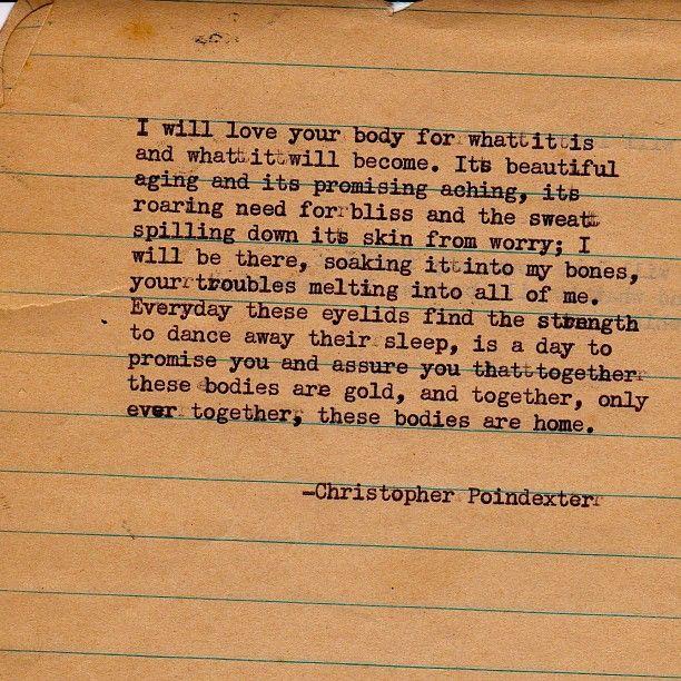 Romantic universe poem