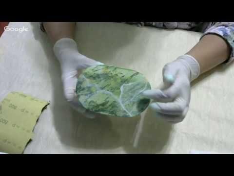 Ф.Батдалова. Шкатулка из камня (имитация) - YouTube